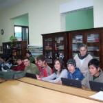 Estudiantes con Docente 2011