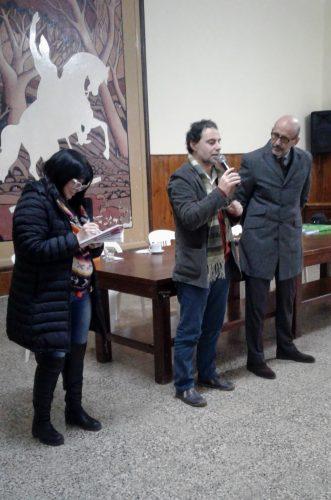 PLENARIA DOCENTE CON LA PRESENCIA DEL SR. RECTOR, DR. HÉCTOR FLORIANI