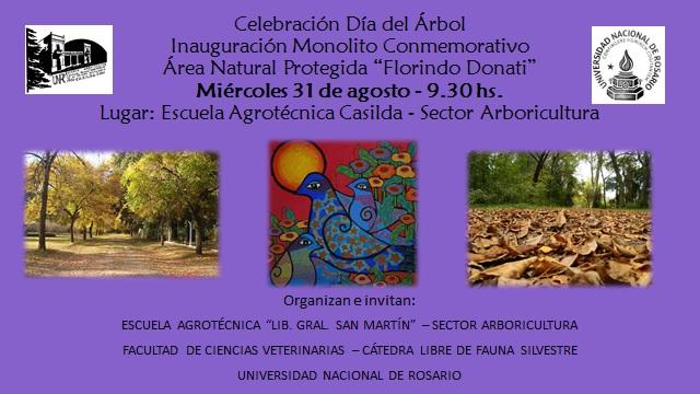 Celebración Día del Árbol - Inauguración Monolito conmemorativo