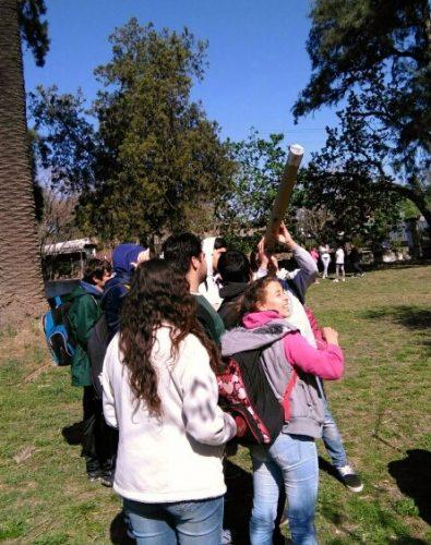ACTIVIDAD ASTRONÓMICA REALIZADA POR ESTUDIANTES DEL PROFESORADO DE MATEMÁTICA EN LA ESCUELA