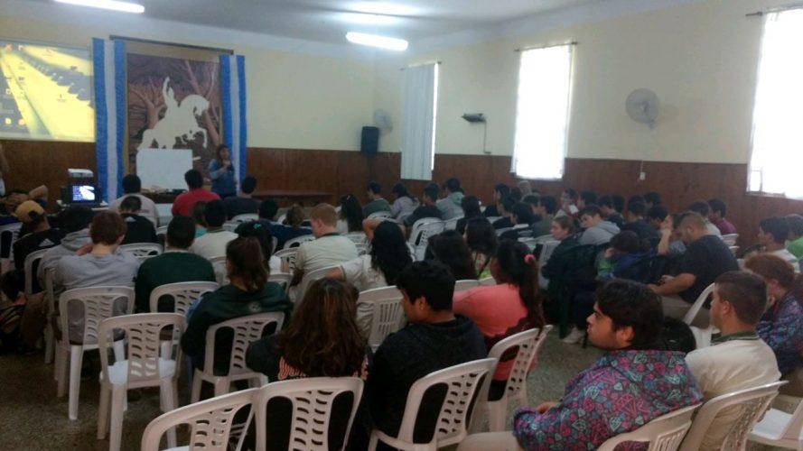 CLASE PÚBLICA POR LAS JORNADAS DE LUCHA DOCENTE