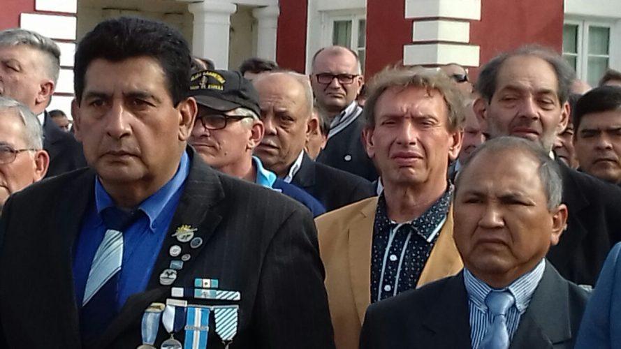 RECONOCIMIENTO AL PROFESOR Y EX COMBATIENTE DE MALVINAS, ERNESTO FAILO