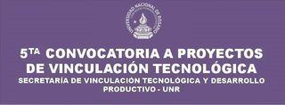 5ta CONVOCATORIA A PROYECTOS DE VINCULACIÓN TECNOLÓGICA