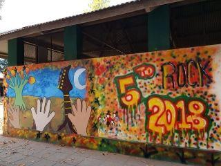 """PROYECTO """"APRENDIENDO A PREVENIR SITUACIONES DE RIESGO EN LA ADOLESCENCIA"""" - PINTURA MURAL EN LA ESCUELA"""