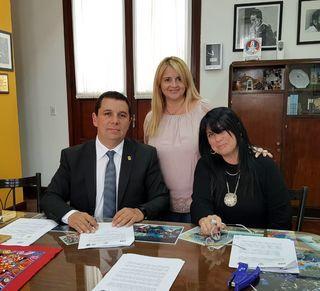 CONVENIO DE INTERCAMBIO DE ESTUDIANTES Y DOCENTES CON EL LICEO AGRÍCOLA EL HUERTÓN DE LOS ÁNGELES, REPÚBLICA DE CHILE