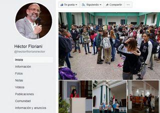 COMENTARIOS DEL RECTOR DE LA UNR, HÉCTOR FLORIANI, SOBRE EL ACTO DE INAUGURACIÓN DEL CICLO LECTIVO 2019 EN LA ESCUELA