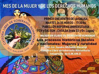 CaLiSA - PRIMER ENCUENTRO 2019 - MARTES 26 DE MARZO