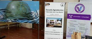 """ACTO DE INAUGURACIÓN DE LA MUESTRA ITINERANTE """"CON LOS OJOS PUESTOS EN MALVINAS"""""""