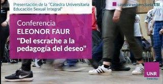 CONFERENCIA ELEONOR FAUR. PRESENTACIÓN CÁTEDRA UNIVERSITARIA ESI