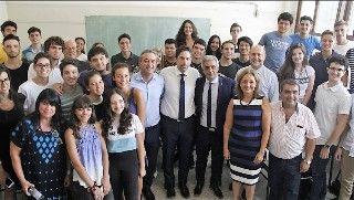 EL MINISTRO DE EDUCACIÓN DE LA NACIÓN MANTUVO UN ENCUENTRO CON ESTUDIANTES DE  LAS TRES ESCUELAS PREUNIVERSITARIAS DE LA UNR