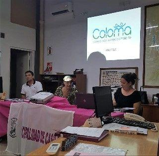PRIMERA REUNIÓN DEL COLOMA