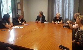 VISITA AL SR. RECTOR CON LOS INTEGRANTES DEL PROYECTO SALUD APÍCOLA 2020 LATAM