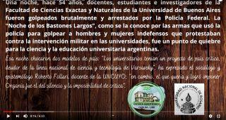DÍA DE LOS/LAS DOCENTES UNIVERSITARIOS/AS EN LA UNR.