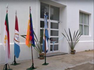 VISITA DEL SR. RECTOR DE LA UNR - INAUGURACIÓN DE LA REFUNCIONALIZACIÓN DE ESPACIOS EN LA ESCUELA.