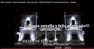 ÚLTIMA PRODUCCIÓN DEL AÑO DEL TALLER DE TEATRO IMPROVISADOS DE LA ESCUELA AGROTÉCNICA